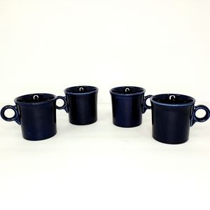 Fiesta HLC Dark Blue Coffee Mugs